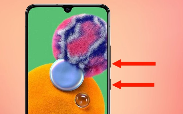 How to take screenshot on Galaxy A90