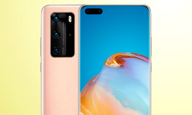 How to take screenshot on Huawei P40 Pro
