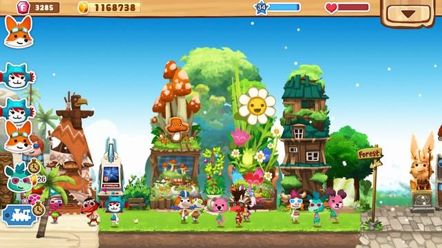 Happy Street - meilleur jeu comme Animal Crossing