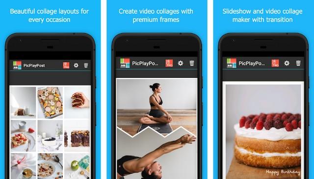 PicPlayPost - meilleure application de création de collage