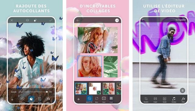 PicsArt - meilleure application de création de collage