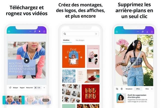 Canva - application pour créer une Story Instagram