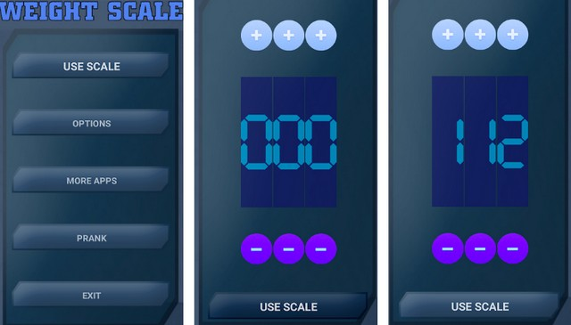 Digital Scale Simulator