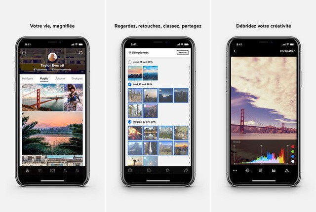 Flickr - application to organize your photos