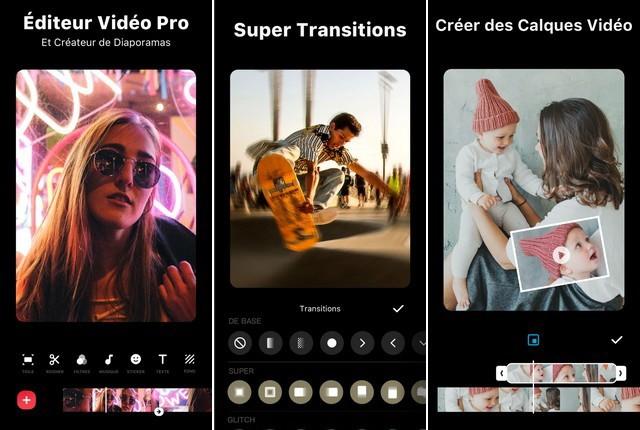 InShot - application pour créer une Story Instagram
