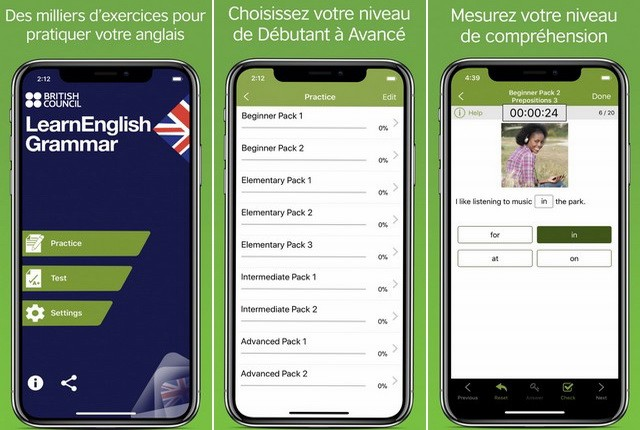 LearnEnglish Grammar - application de grammaire anglaise