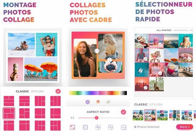 PicJointer - application de collage photos