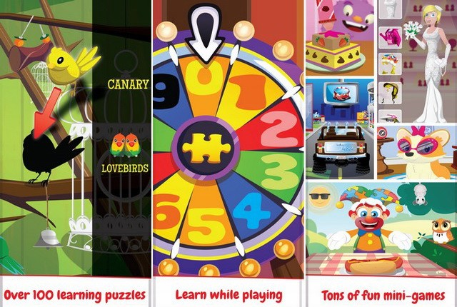 Puzzifou, puzzles for children