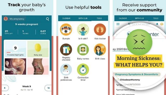 BabyCenter Pregnancy Tracker