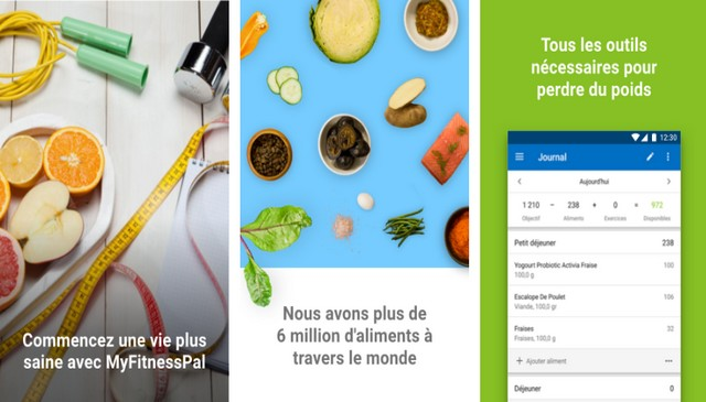 Calorie counter by MyFitnessPal