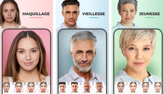 FaceApp - applications échange de visage