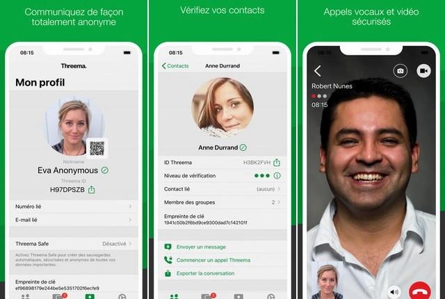 Threema - application like WhatsApp