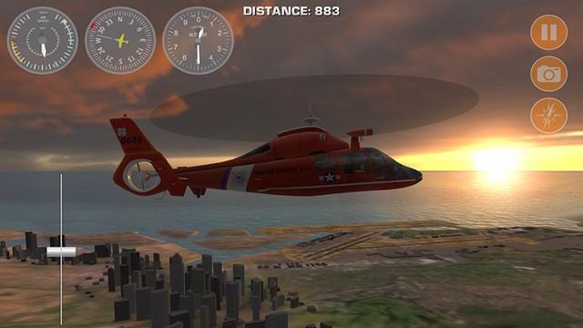 Aéro-Hawaï - meilleur jeu hélicoptère