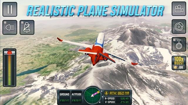 Flight Sim 18 - jeu de simulation de vol
