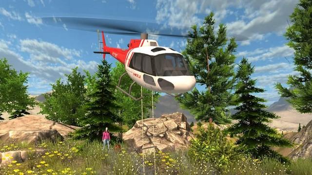Helicoptere de Secours Simulateur