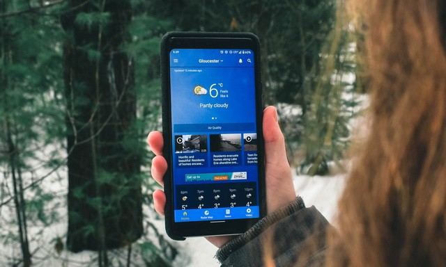 Les meilleures applications météo pour Android