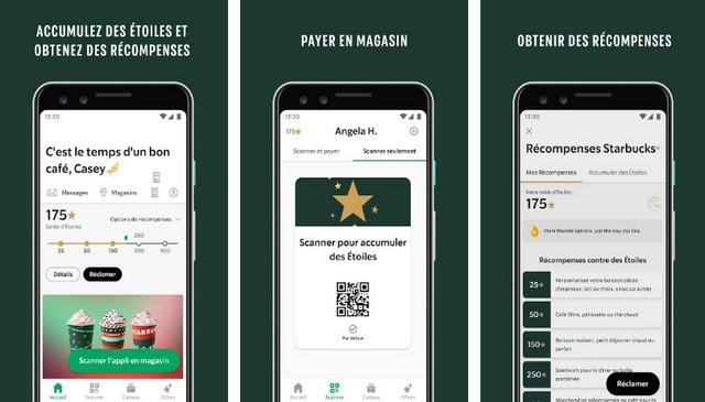 Starbucks - Fast Food App