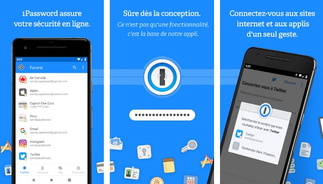 1Password - meilleure alternative à LastPass