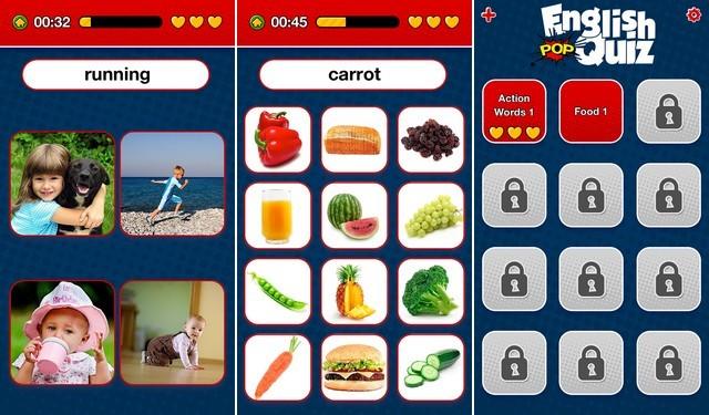 Apprendre l'anglais - Quiz de Vocabulaire