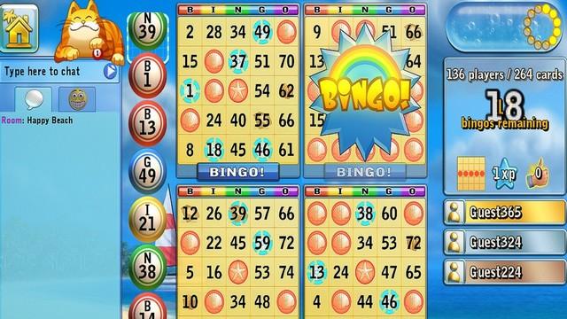 Bingo Beach - Bingo Game for iPhone