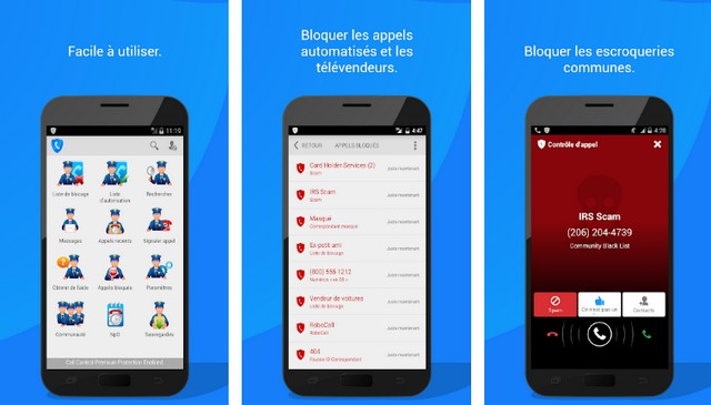 Call Control - meilleure alternative à Truecaller