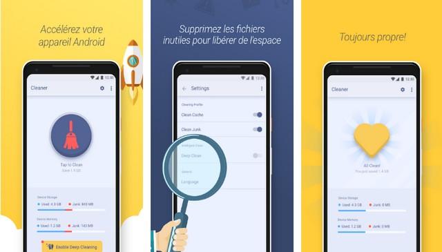 Clean Droid - best app like CCleaner