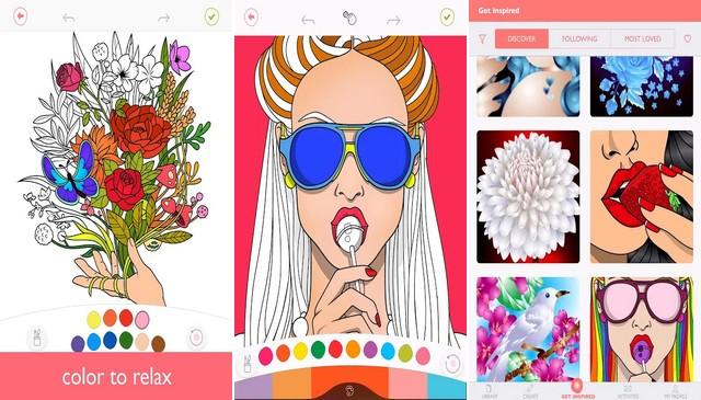 Colorfy - meilleure application de coloriage