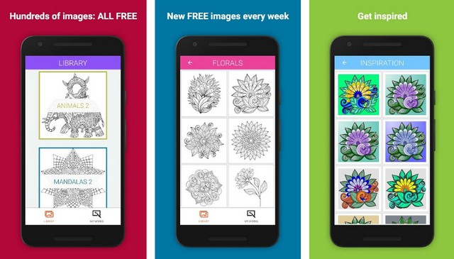 Colorify - meilleure application de coloriage