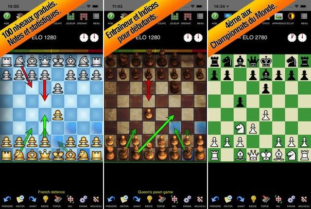 Échecs Entraîneur - jeux échecs pour iPhone