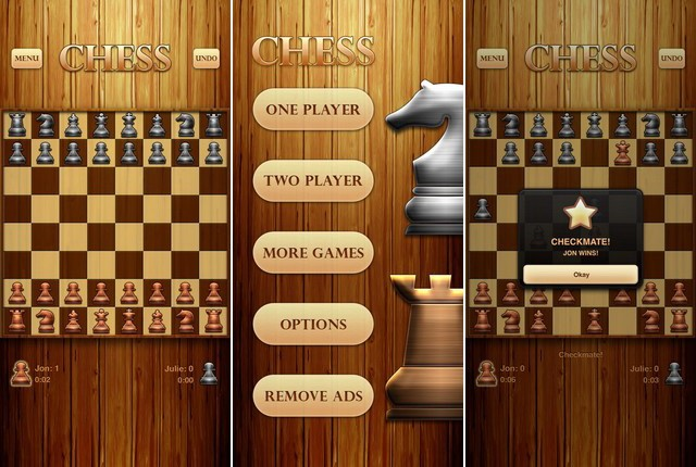 Échecs par Optime Software