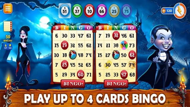 Halloween Bingo 2020 USA