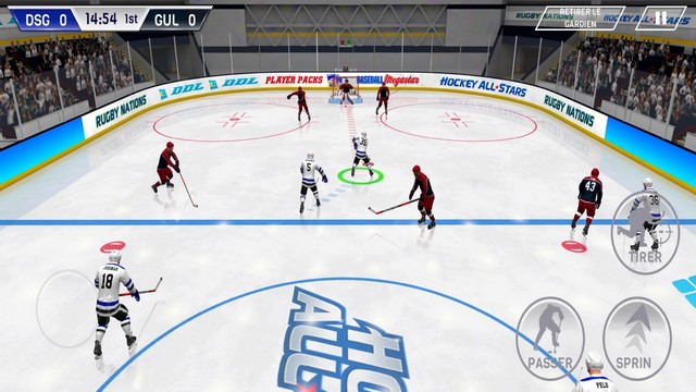 Hockey All Stars - Jeu de hockey pour iPhone