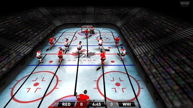 Hockey Table d'Équipe Canada