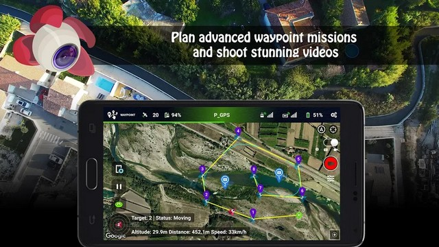 Litchi - meilleure application de drone