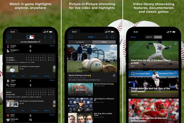 MLB - sports news applications