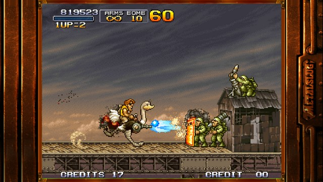 Metal Slug 3 - jeu rétro pour iPhone