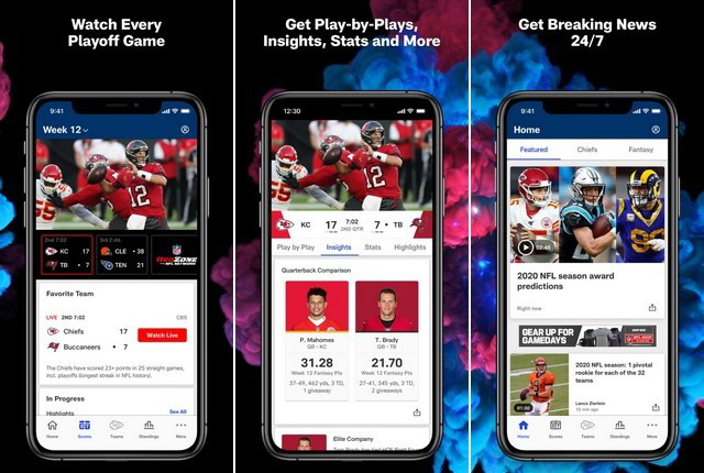 NFL - applications actualité sportive