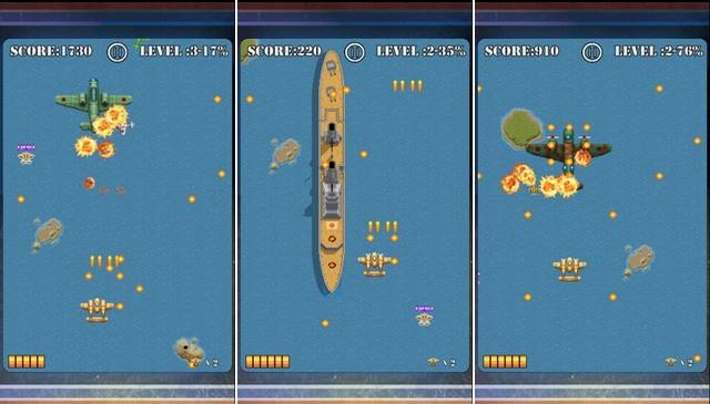 Pacific Wings - jeu rétro pour iPhone