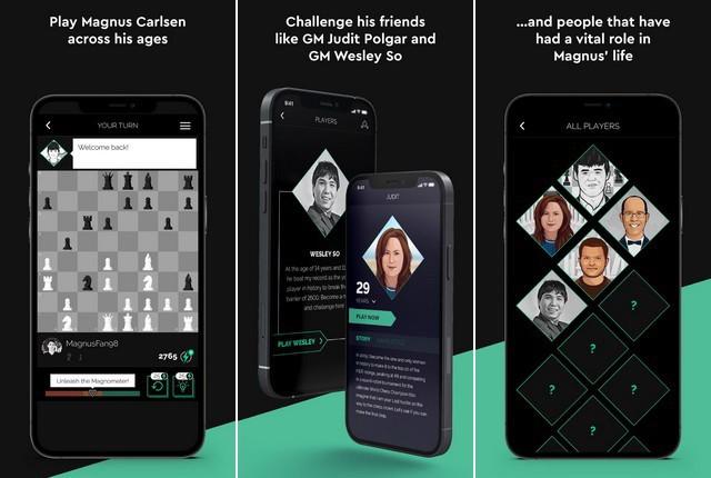 Play Magnus - jeux échecs pour iPhone