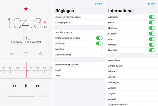 RadioApp - meilleure application pour écouter la radio