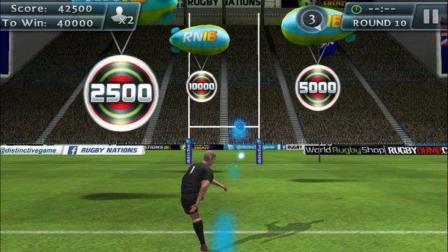 Rugby Kicks 2 - best game for iPhone