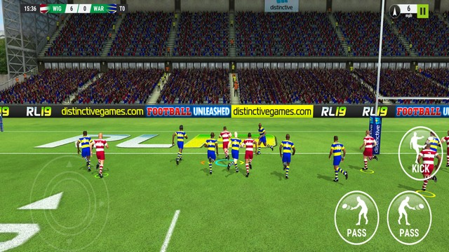 Rugby League 19 - best rugby game for iPhone