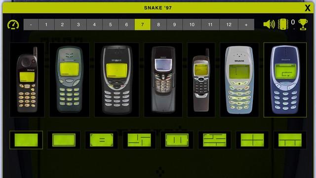 Snake 97: téléphone rétro