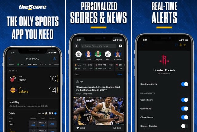 theScore Sports News & Scores
