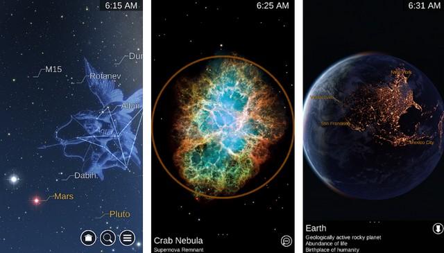 Carte du Ciel - meilleure application de réalité augmentée