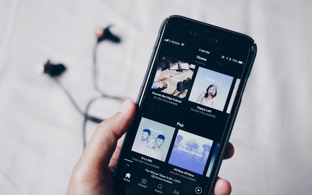 Combien de données consomme Spotify