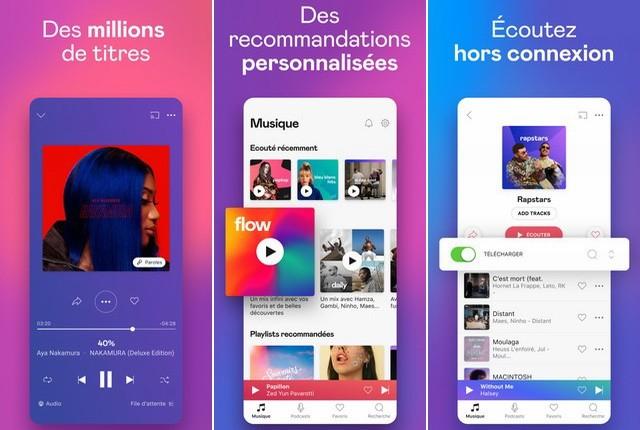 Deezer - meilleure alternative à Apple Music