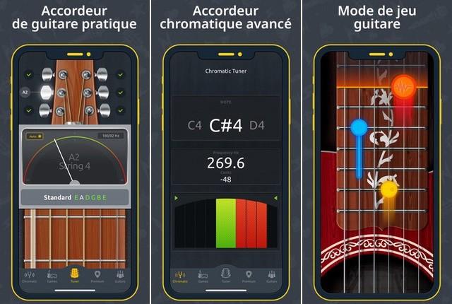 DoubleTune - applications accordeur de guitare
