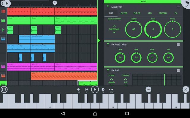 FL Studio Mobile - application de composition de musique