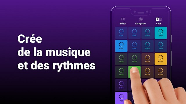 Groovepad - application de composition de musique